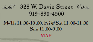 Address, phone number, hours, and map