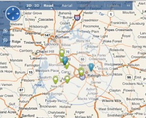 Bing Maps embedded on a client's website