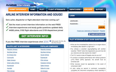 aviation interviews site