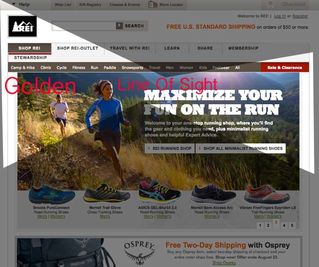 5 Ways To Look At Web Design Like An Ecomm Pro REI example