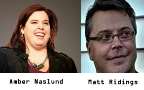 Amber Naslund and Matt Ridings Expion Social Summit