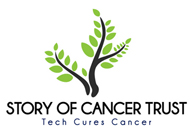 Story of Cancer Trust Logo on Tech Cures Cancer Atlantic Bt