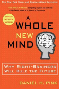 Daniel Pink A Whole New Mind for Atlantic BT Blog graphic