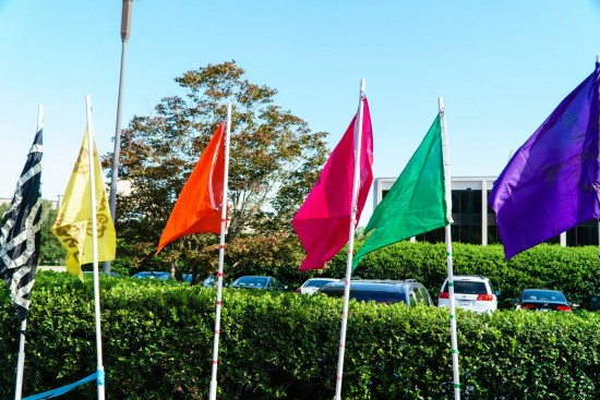 AtlanticBT summer olympics flags