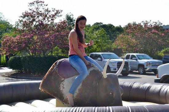 mechanical bull riding shot 9