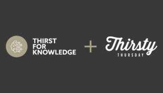 Thirst for knowledge poster
