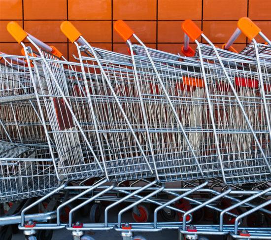 Stacked carts