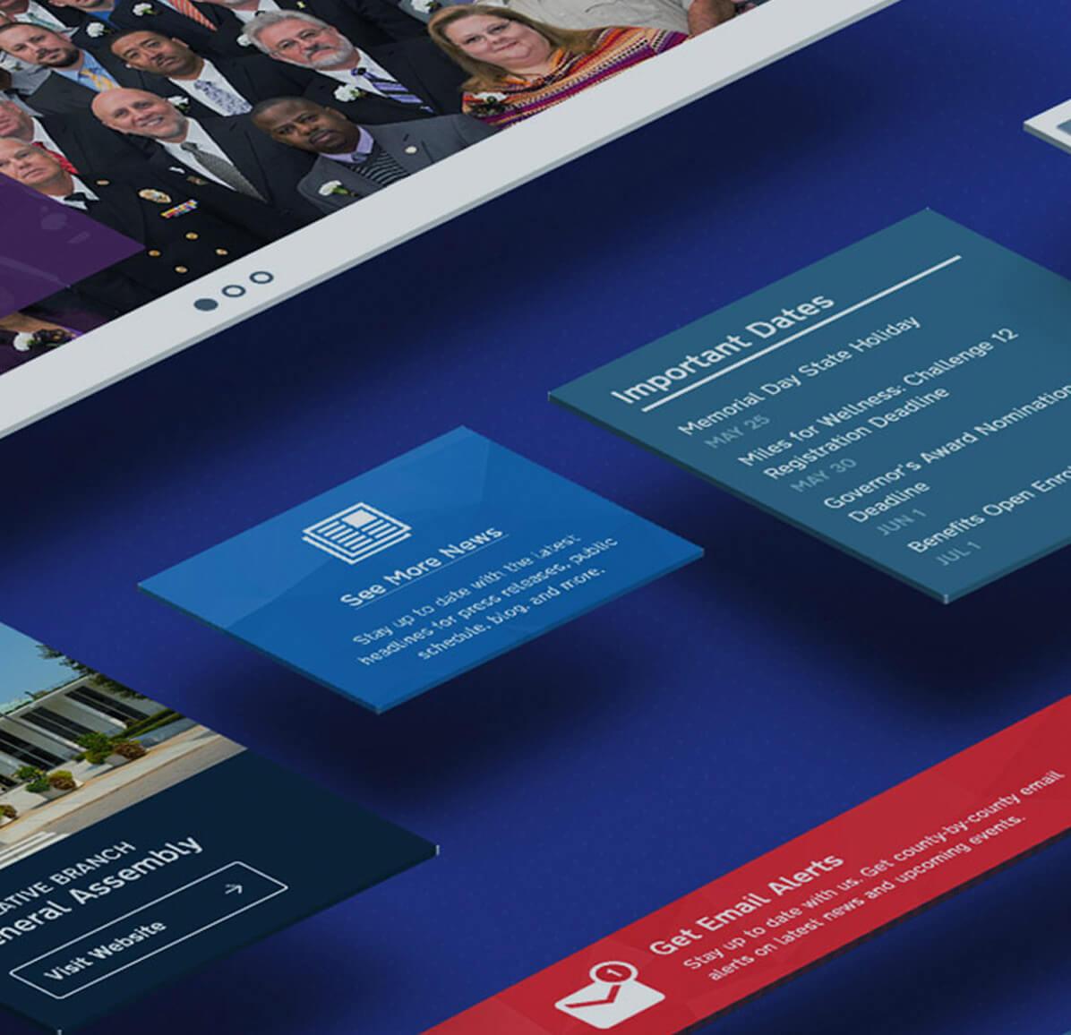 Government Web Design Case Study