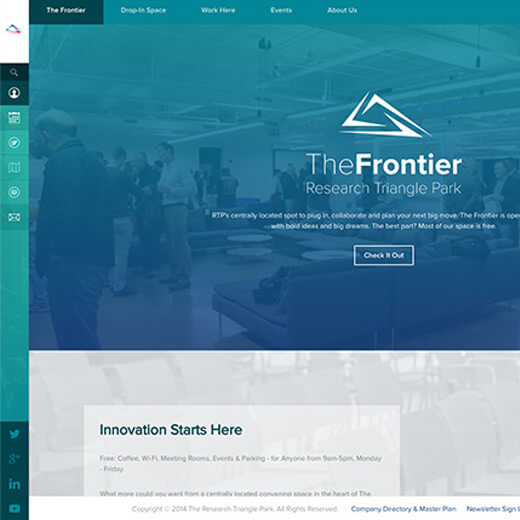 Research Triangle Frontier Page