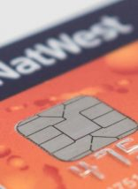 Closeup of card