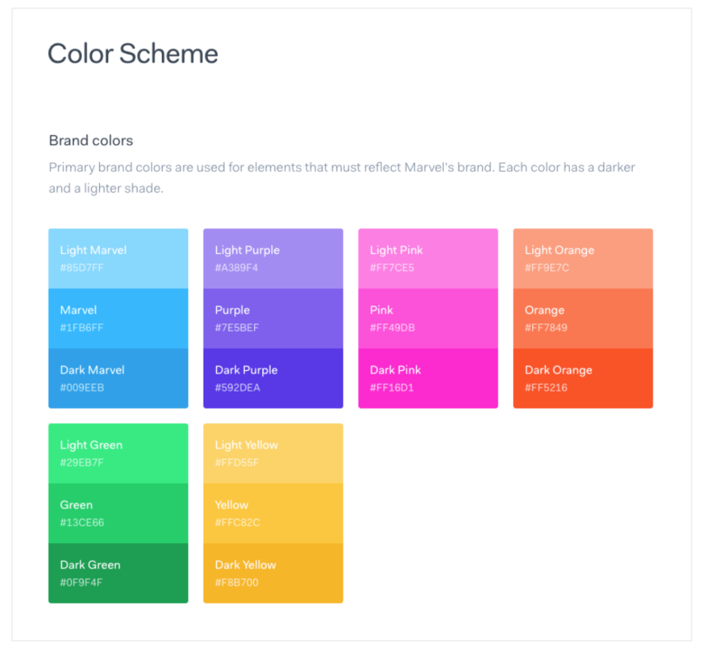 Color Scheme - Design Systems