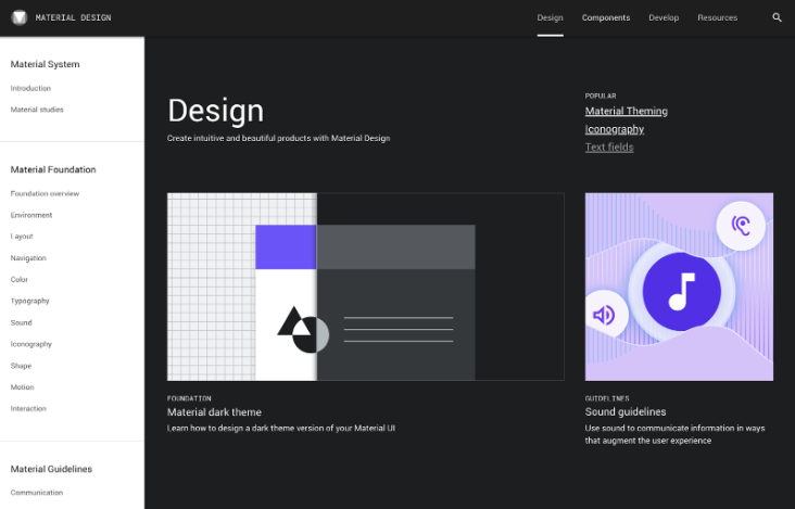 Material Design System
